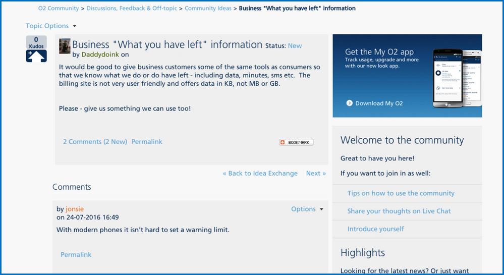My O2 Screenshot - Newletterjdi co
