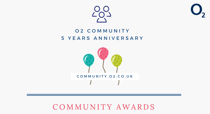 Community Anniversary Awards