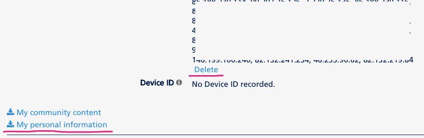 Delete IP Addresses Feature