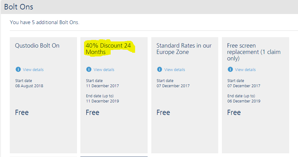 Family Plan discount in My O2