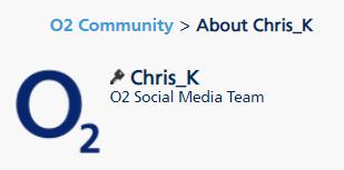 Web Chat - O2 Community