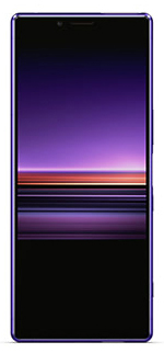 Sony Xperia 1 purple front