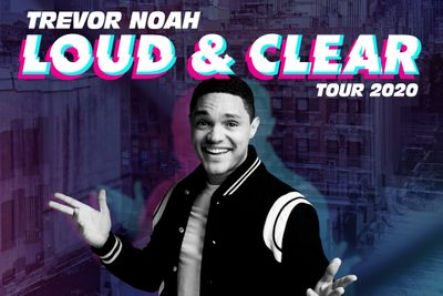 Trevor Noah Loud & Clear tour poster