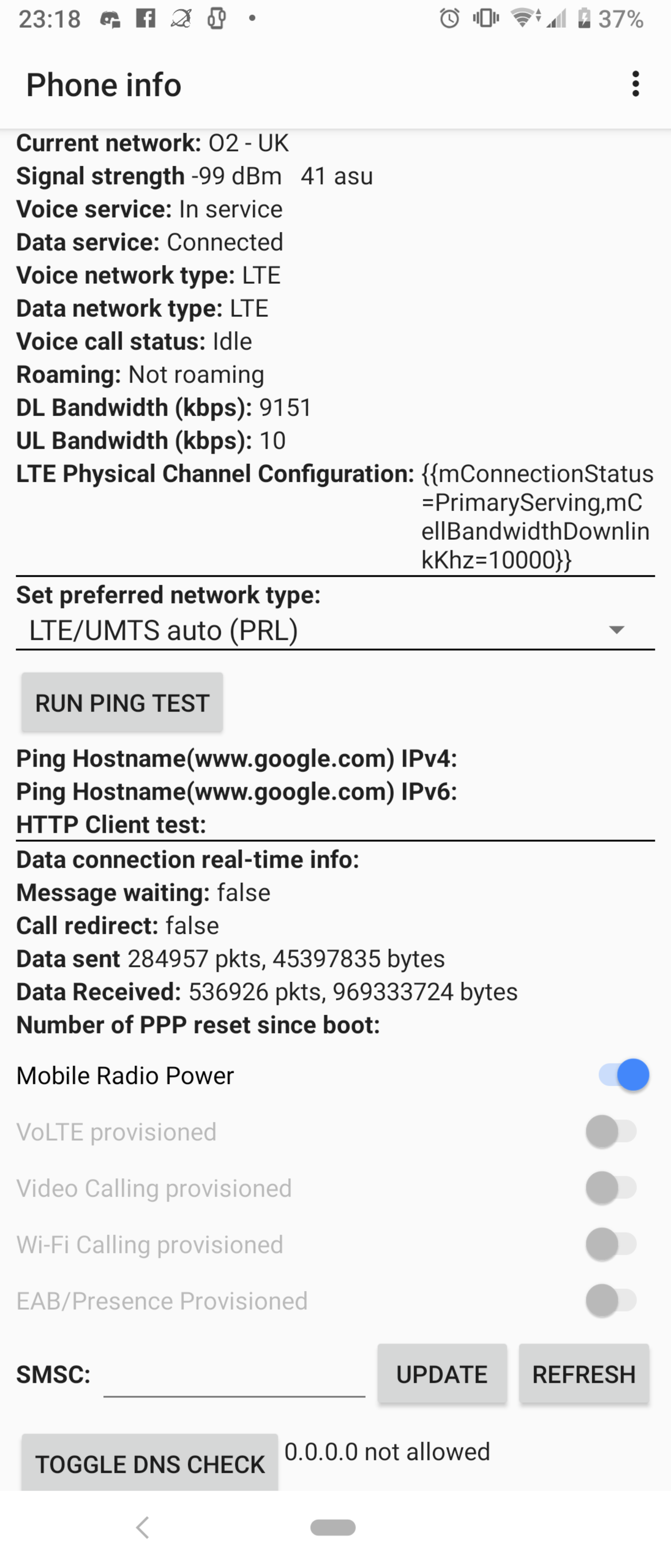 Solved: Wifi calling Xperia 1 not working - O2 Community