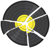 Discogs - broken record logo - avatar use.png