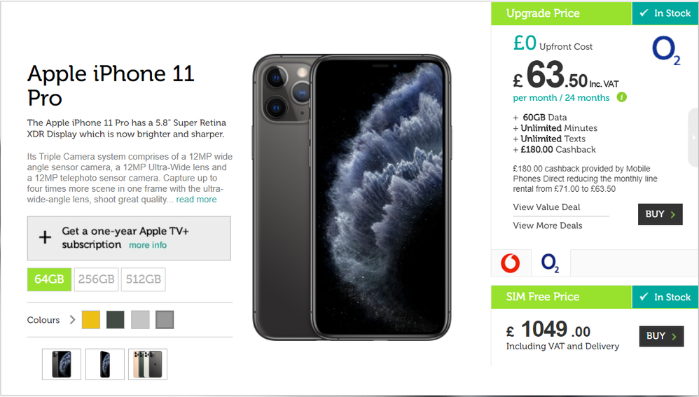 20**Personal info** 17_37_51-iPhone 11 Pro_ Contract & SIM Free _ Mobile Phones Direct.png
