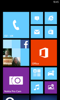 Start menu screenshot