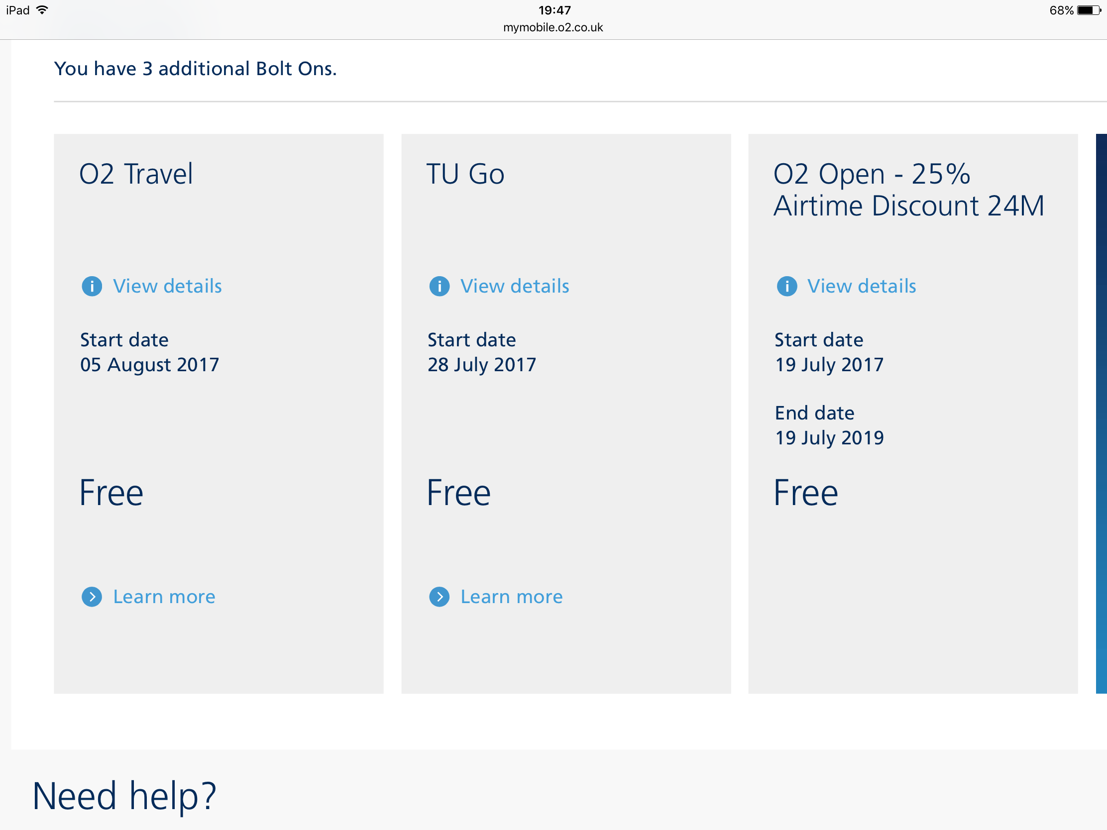 how to call o2 from abroad