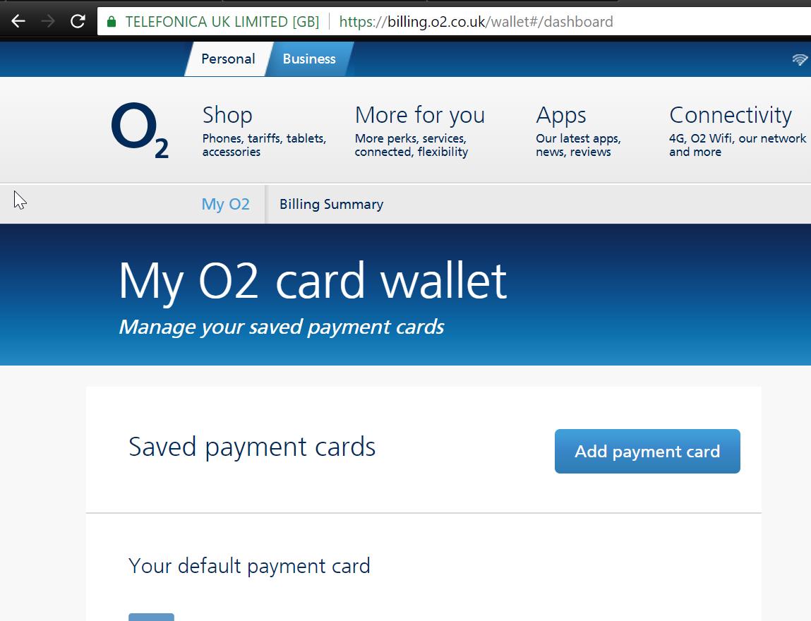 solved e mail address change for o2 online payment receip o2 community. Black Bedroom Furniture Sets. Home Design Ideas