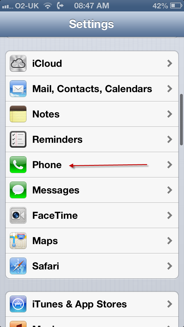 call forwarding iphone call forward icon keeps appearing here s the solu o2 10332