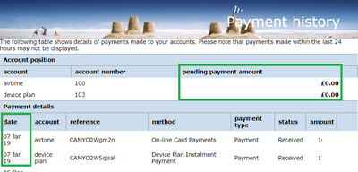 Is e-mail of receipts from o2payments <o2payments@    - O2