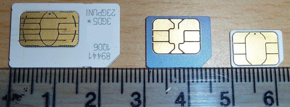 Sim Card to Micro Sim Template